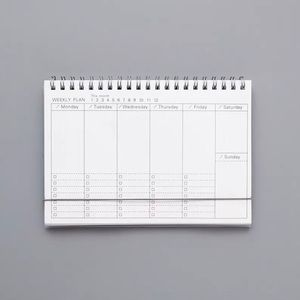 Other - 🦋BACK IN STOCK🦋 Clear Covered Weekly Planner